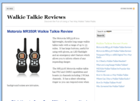 walkietalkiereviews.com