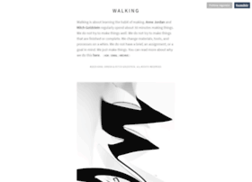walking.designcrit.com