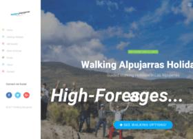 walkingalpujarras.com