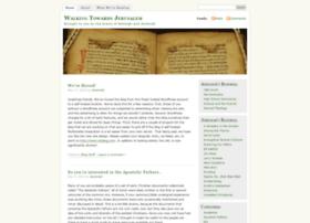 walkingtowardsjerusalem.wordpress.com