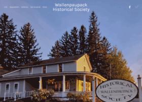 wallenpaupackhistorical.org