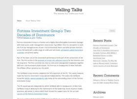 wallingtalks.com
