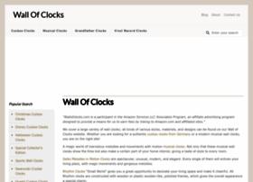 wallofclocks.com
