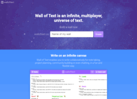 walloftext.co