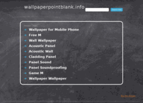 wallpaperpointblank.info