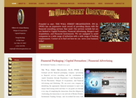 Wallstreetorganization.com