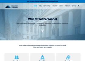wallstreetpersonnel.com