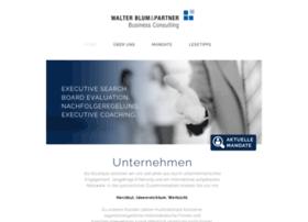 walterblum-consulting.com