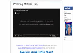 waltzingmatildarap.com