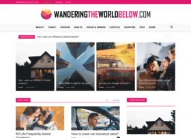 wanderingtheworldbelow.com
