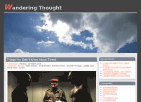 wanderingthought.com