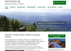 wandern-bayerischer-wald.de
