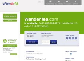 wandertea.com