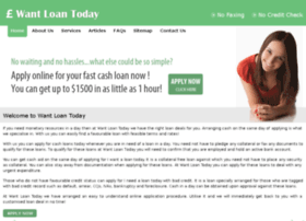 wantloantoday.co.uk