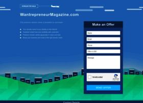wantrepreneurmagazine.com