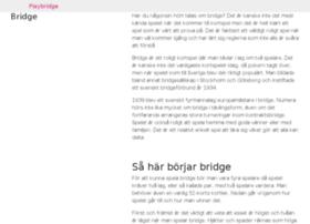 wanttoplaybridge.com