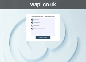 wapi.co.uk