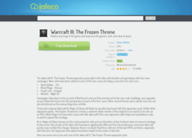 warcraft-iii-the-frozen-throne.jaleco.com