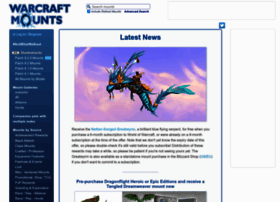 warcraftmounts.com