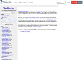 wardiary.wikileaks.org