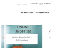 wardrobethrowdown.com
