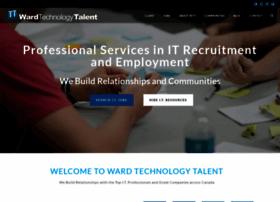 wardtechtalent.com