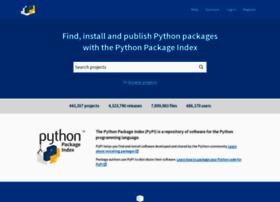 warehouse.python.org