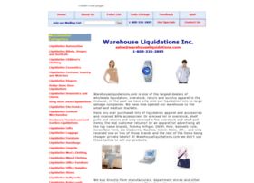 warehouseliquidations.com