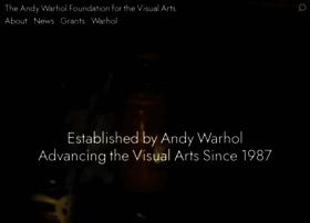 warholfoundation.org