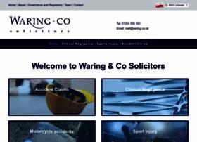 waring.co.uk