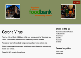 warminsteranddistrictfoodbank.co.uk