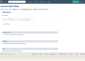 warnerzmjq.blogs.experienceproject.com
