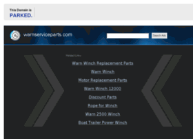 warnserviceparts.com
