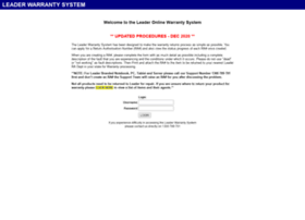 warranty.leadersystems.com.au