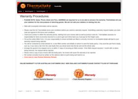 warranty.thermaltake.com.au