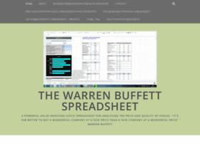 warrenbuffettspreadsheet.wordpress.com