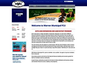 warrenmunicipalfcu.com
