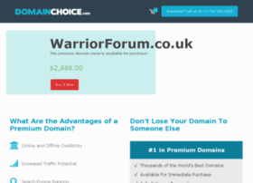 warriorforum.co.uk