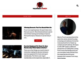 warriorpunch.com