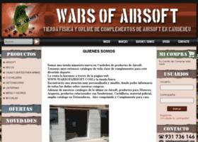 warsofairsoft.com