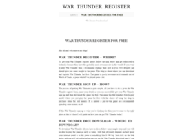 warthunderregister.wordpress.com