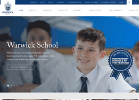 warwickschool.org