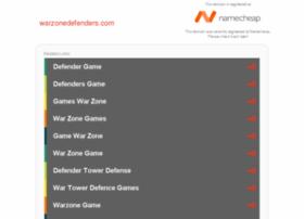 warzonedefenders.com