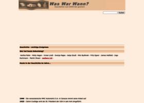 was-war-wann.de