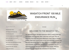 wasatch100.com
