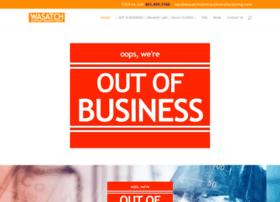 wasatchcontractmanufacturing.com