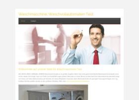 waschmaschine.zohosites.com