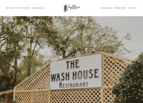 washhouserestaurant.com