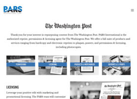 washingtonpostreprints.com