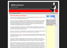 washingtonpostsmensainvitational.com